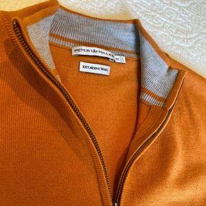 Peter Millar Merino Wool Quarter-zip Vest